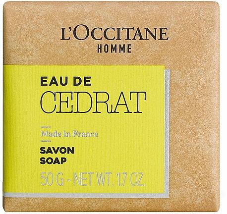 L'Occitane Cedrat - Perfumed Soap — photo N1