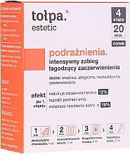 Fragrances, Perfumes, Cosmetics Intensive Soothing Irritation Treatment - Tolpa Estetic