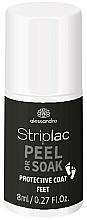 Fragrances, Perfumes, Cosmetics Nail Polish - Alessandro International Striplac Peel or Soak Protective Coat Feet