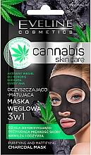 Fragrances, Perfumes, Cosmetics Face Mask - Eveline Cosmetics Cannabis Mask