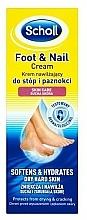 Fragrances, Perfumes, Cosmetics Foot Cream - Scholl Moisturizing Foot and Nail Cream