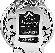 Fragrances, Perfumes, Cosmetics Tesori d`Oriente White Musk - Scented Candle