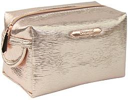 """Fragrances, Perfumes, Cosmetics Makeup Bag """"Rose Gold"""" rectangular 4991, gold - Donegal"""
