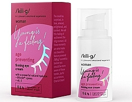 Fragrances, Perfumes, Cosmetics Strengthening Eye Cream - Kili·g Woman Age Preventing Eye Cream