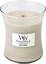Fragrances, Perfumes, Cosmetics Scented Candle in Glass - WoodWick Hourglass Candle Wood Smoke