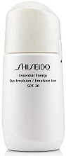 Fragrances, Perfumes, Cosmetics Moisturizing Emulsion - Shiseido Essential Energy Day Emulsion SPF 20