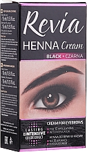 Fragrances, Perfumes, Cosmetics Brow Cream Henna - Revia Eyebrows Henna