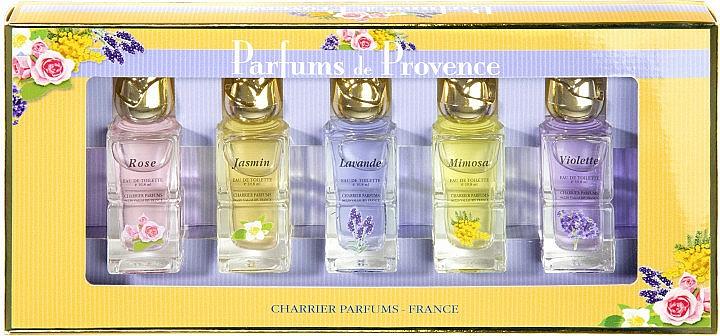 Charrier Parfums Parfums De Provence - Set (edt/10.8ml x 5)