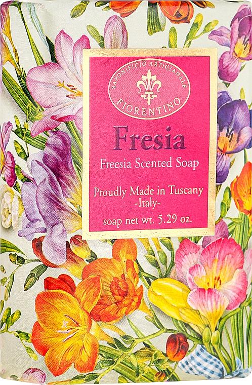 """Natural Soap """"Freesia"""" - Saponificio Artigianale Fiorentino Masaccio Freesia Soap"""