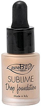 Fragrances, Perfumes, Cosmetics Liquid Foundation - PuroBio Sublime Drop Foundation