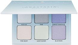 Fragrances, Perfumes, Cosmetics 6-Piece Highlighter Kit - Anastasia Beverly Hills Glow Kit Highlighter