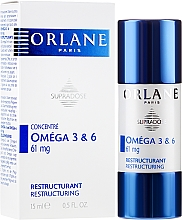 Fragrances, Perfumes, Cosmetics Omega 3 & 6 Restructuring Serum Concentrate - Orlane Supradose Omega 3&6 Restructuring Concentrate