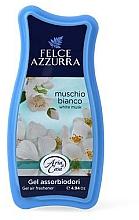 Fragrances, Perfumes, Cosmetics Freshener - Felce Azzurra Gel Air Freshener White Musk