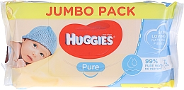 Fragrances, Perfumes, Cosmetics Baby Wet Wipes Pure, 72 pcs - Huggies