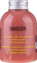 Fragrances, Perfumes, Cosmetics Chocolate & Orange Extracts Bath Cream - BingoSpa