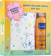 Set - Mustela Bebe Solare (sun/spray/200ml + bag) — photo N1