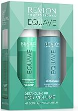 Fragrances, Perfumes, Cosmetics Set - Revlon Professional Equave Volume Detangling (shm/250ml + cond/200ml)