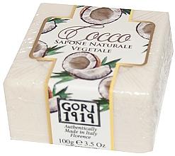 Fragrances, Perfumes, Cosmetics Coconut Soap - Gori 1919 Coconut Natural Vegetable Soap