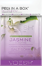 "Fragrances, Perfumes, Cosmetics Pedicure Set ""Jasmine"" - Voesh Pedi In A Box Deluxe Pedicure Jasmine Soothe"