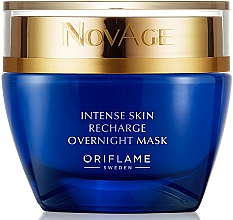 Fragrances, Perfumes, Cosmetics Intensive Restoring Night Mask - Oriflame NovAge Intense Skin Recharge Overnight Mask