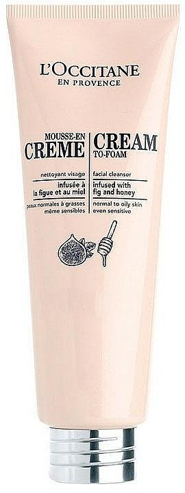 Cleansing Cream-To-Foam - L'Occitane Cleansing Cream-To-Foam