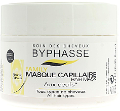 Fragrances, Perfumes, Cosmetics Egg Yolk Mask for All Hair Types - Byphasse Family Multivitamin Complexe Mask