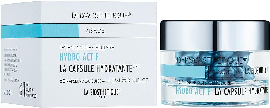 Hydrolipid Gel Capsules for Dehydrated Skin - La Biosthetique Dermosthetique Hydro-Actif La Capsule Hydratante