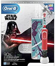 Fragrances, Perfumes, Cosmetics Set - Oral-B Kids Star Wars Special Edition (tooth/brush/1pcs + case) (1pcs)