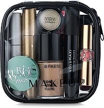 "Fragrances, Perfumes, Cosmetics Clear Makeup Bag ""Visible Bag"" 12x12x5 cm - MakeUp"