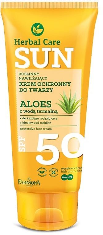 Protective Face Cream - Farmona Herbal Care Sun SPF 50