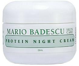 Fragrances, Perfumes, Cosmetics Protein Facial Night Cream - Mario Badescu Protein Night Cream