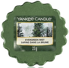 Fragrances, Perfumes, Cosmetics Scented Wax - Yankee Candle Evergreen Mist Wax Melts