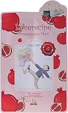 Fragrances, Perfumes, Cosmetics Pomegranate Extract Face Sheet Mask - Sally's Box Loverecipe Pomegranate Mask
