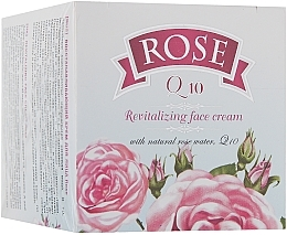 Fragrances, Perfumes, Cosmetics Q10 Regenerating Facial Cream - Bulgarian Rose Rose