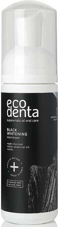 Mouthfoam - Ecodenta Black Whitening Mouthfoam