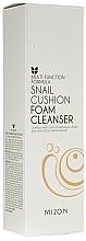 Fragrances, Perfumes, Cosmetics Cleansing Snail Foam - Mizon Snail Cushion Foam Cleanser