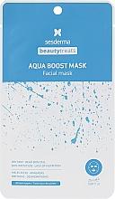 Fragrances, Perfumes, Cosmetics Moisturizing Aqua Boost Mask - SesDerma Laboratories Beauty Treats Aqua Boost Mask