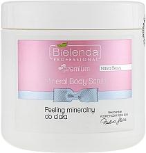 Fragrances, Perfumes, Cosmetics Professional Mineral Body Scrub - Bielenda Professional Natural Beauty Mineral Body Scrub