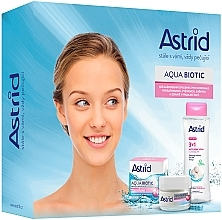 Fragrances, Perfumes, Cosmetics Set - Astrid Aqua Biotic Set (cr/50ml+micel/water/400ml)