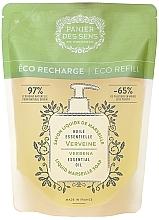 Fragrances, Perfumes, Cosmetics Verbena Liquid Marseille Soap (doypack) - Panier des Sens Verbena Liquid Marseille Soap