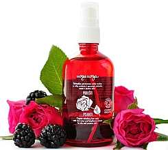 Fragrances, Perfumes, Cosmetics Refreshing Face Tonic with Rose Water and Blackberry Extract - Uoga Uoga Refreshing Face Tonic