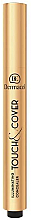 Fragrances, Perfumes, Cosmetics Concealer with Brush - Dermacol Highlighting Elick Concealer Touch & Cover