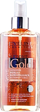 Fragrances, Perfumes, Cosmetics Face and Body Spray 5 in 1 - Eveline Cosmetics Summer Gold Spray