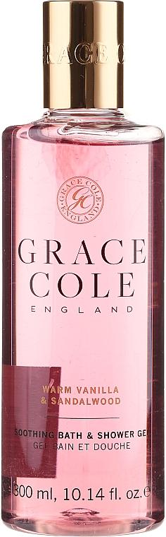 "Gel-Foam ""Vanilla and Sandalwood"" - Grace Cole Warm Vanilla & Sandalwood Soothing Bath & Shower Gel"