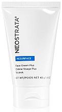 Fragrances, Perfumes, Cosmetics Face Cream - Neostrata Resurface Face Cream Plus