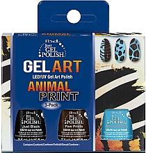 Fragrances, Perfumes, Cosmetics Set - IBD Just Gel Polish Animal Print Gel Art(nail/lacquer/7,4mlx3)