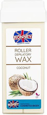 """Depilatory Wax in Cartridge """"Coconut"""" - Ronney Wax Cartridge Coconut"""