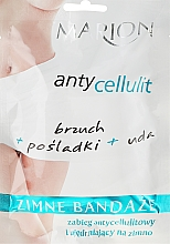 Fragrances, Perfumes, Cosmetics Cool Body Bandages - Marion Anti-Cellulite Cool Bandages
