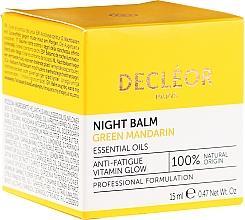 Fragrances, Perfumes, Cosmetics Smoothing Night Face Balm - Decleor Green Mandarin Glow Night Balm