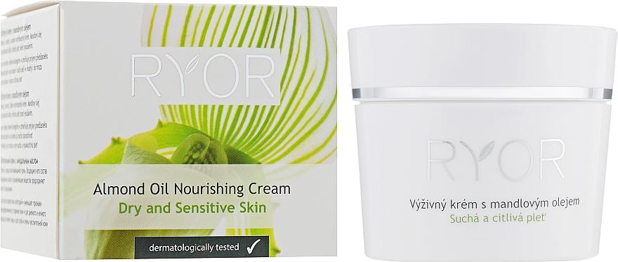 Nourishing Almond Cream - Ryor Face Care — photo N1